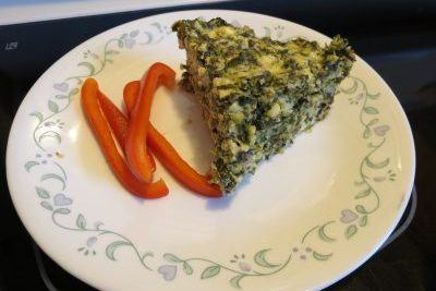 Spinach Cheese Casserole