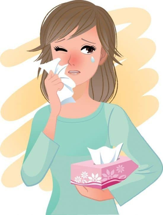 seasonal allergies sneezing