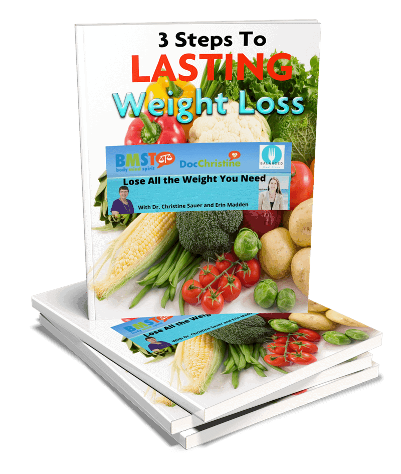 3 steps to lasting weight loss